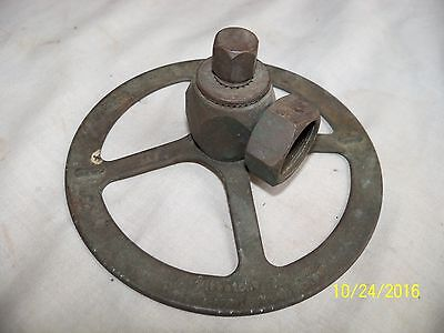Very Rare Nice Old Vintage Firestone Supreme Solid Brass Lawn Sprinkler