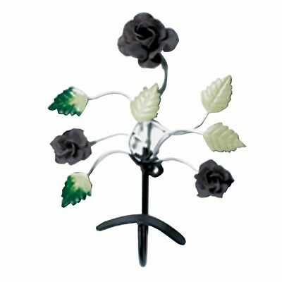 Flower Hook Wrought Iron Multi Colored Rose | Renovators Supply