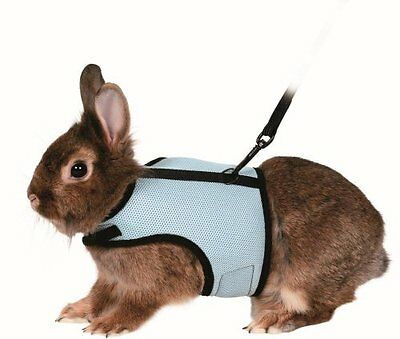 Trixie 61513 Harness for Small Animals for Rabbits Nylon 14 - 19 cm   25 - 32 cm