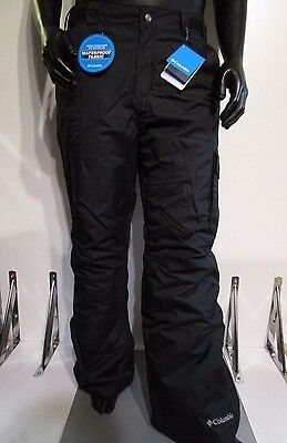 Mens S-M-L-XL-XXL Columbia Bull Lake Cargo Insulated Waterproof Ski Pant Black