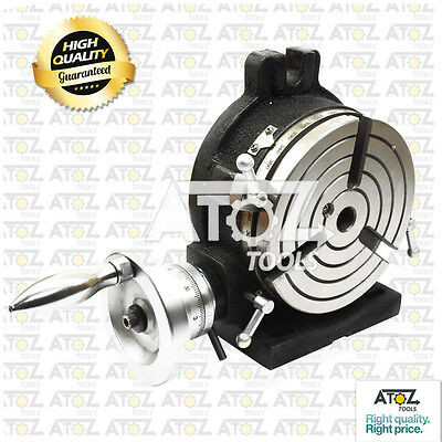 Atoz Rotary Table 6 Inches / 150 mm Horizontal & Vertical Model Heavy Duty Large