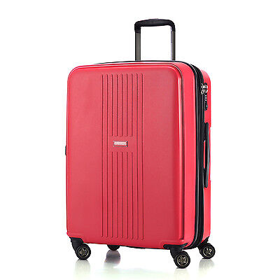"HAUPTSTADTKOFFER F-Hain 20""24""28 Luggage Set Suitcase Travel Bag TSA Trolley Red"