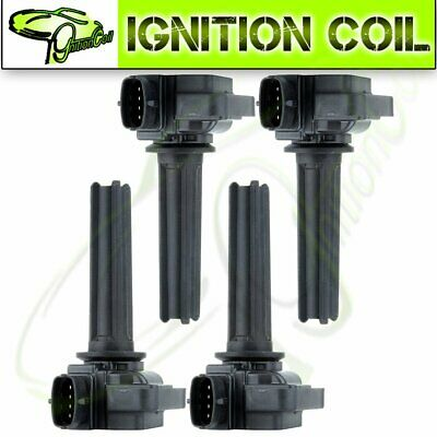 Set of 4 Brand New Ignition Coils Pack Kit for 03-11 Saab 9-3 2.0L Turbo UF526