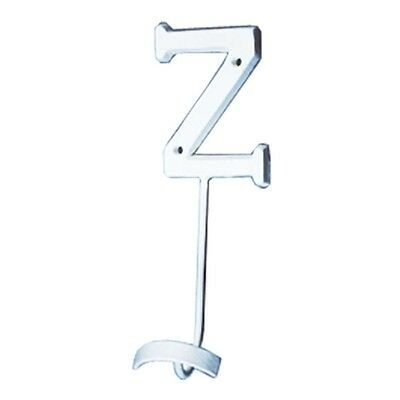 Letter Hook Z Wrought Iron White Decorative | Renovators Supply