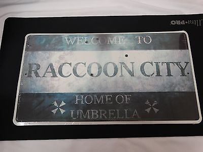 Resident Evil (Biohazard) Raccoon City Limited Edition Replica Sign!