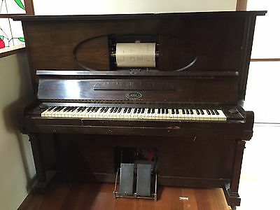 Vintage Pianola with Rolls