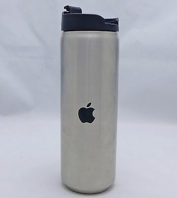 Apple Computer Travel Coffee Mug Insulated Stainless Cup I Inspire For A Living