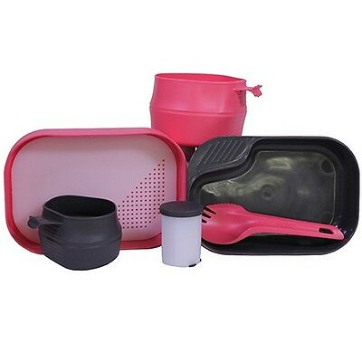 Proforce Equipment 21329 Wildo Camp-A-Box Complete Compact Pink