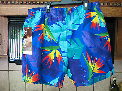 Jordache men's swim suit trunks large new with tags old stock 1980s