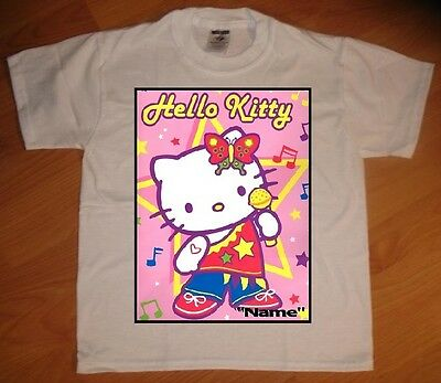 Hello Kitty Custom Personaliz​e Birthday Party Favor Gift T-Shirt