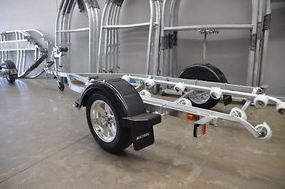 Sea-Trail jet-ski boat trailer. galvanised frame. 13 inch alloy wheels