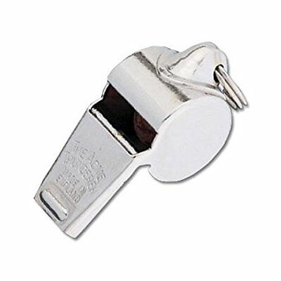 Acme 60.5PB Brass Police Thunderer Whistle w/ Ring For Attachment