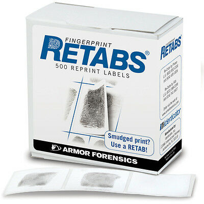 Armor Forensics LE 42/500 Identicator Retabs Correction Labels 500 In A Pack
