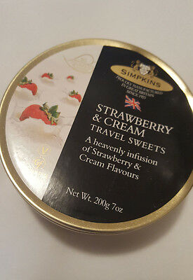 Simpkins Travel Strawberry and Cream Current 200g