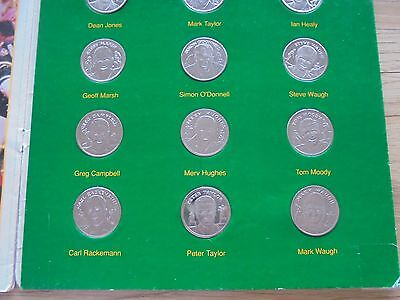 CLASHES FOR THE ASHES_cricket coin collection_USED_ships from AUS!_xx9_a1a10