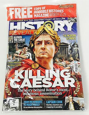 History Revealed Magazine August 2016 - Free Horrible Histories Mag!