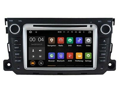 Quad Core Android 5.1 Car GPS DVD player for MERCEDES-BENZ SMART 16GB flash GPS