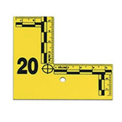 Armor Forensics IDFC-0120Y L-Shaped Flat ID Markers With Numbers 1-20