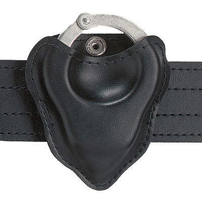 Safariland 090H-16 Black Plain Open-Top Formed Handcuff Pouch