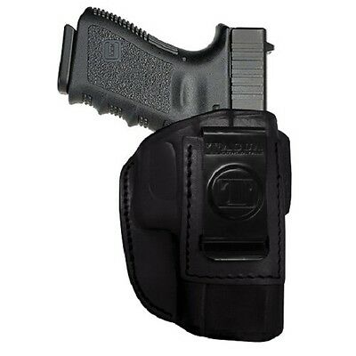 Tagua TAGNIPH4-330 4-in-1 ITP Holster Black Leather RH for Glock 26