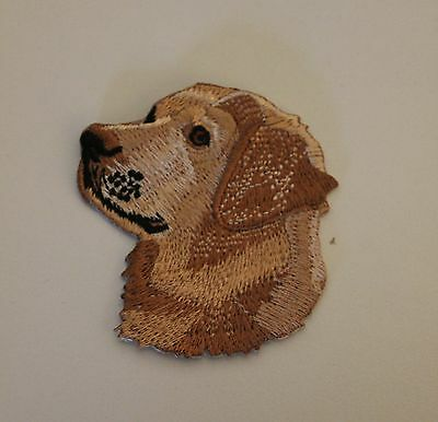 Aufnäher / patch Hunde Golden Retriever [a004]