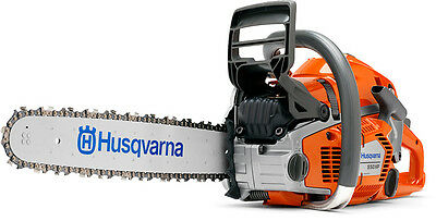 Husqvarna 550XP 18' Chainsaw with free bar and 2x Chains