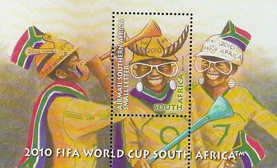 South Africa FIFA World Cup 2010 (Issue Of 2008) Football Games Sport (ms) MNH