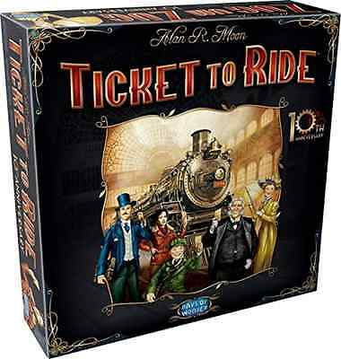 NEW Ticket to Ride 10th Anniversary Edition FREESHIPPING