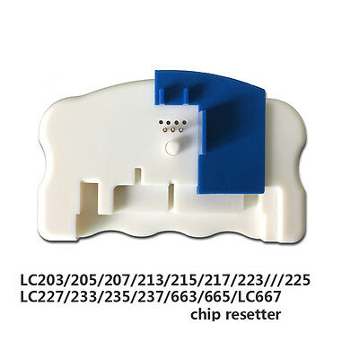 Chip Resetter For Brother printer Cartridge for LC203/LC205/LC207/LC209/LC223