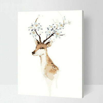 Animal Deer DIY Number Painting Wall Paint Living Dinning