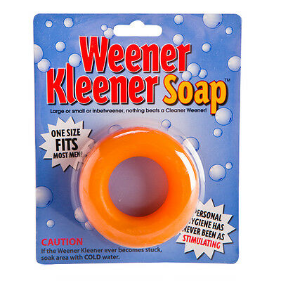 Weener Kleener Soap - One Size Fits Most - Hens Party Bucks Stag Night Joke Gift