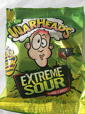 Warheads Extreme sour Candy 28g