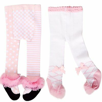 Baby Girls Toddler Kids Lace Cotton Warm Tights Stockings Pantyhose Pants Socks