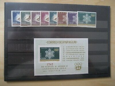 Paraguay postfrisch 1200/07 + Block 39 Olympic ( 2925)