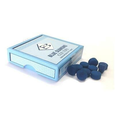 Brunswick Blue Diamond Snooker or Pool Cue Tips - 9mm, 10mm and 11mm