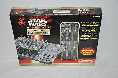 1999 Tiger Electronics Star Wars Episode 1 Electronic Galactic Chess Game