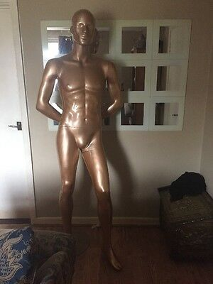 Male Mannequin Large With Glass Stand