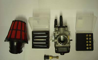 Moped Carb Kit 21Mm Piaggio Nrg Typhoon Zip New