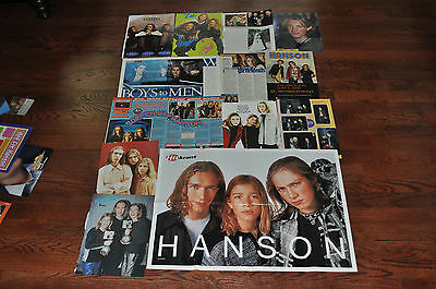 Rare lot of 60 Hanson magazine and newspaper clippings! #3