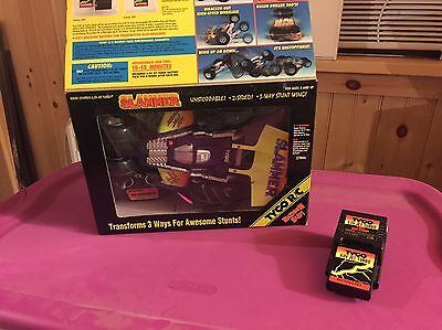 Up for Auction Is A Tyco R/C  Slammer 27mhz With OG Box