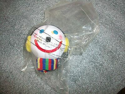 HOLIDAY ANTENNA BALL SNOWMAN w/SCARF EAR MUFFS  UNOPENED