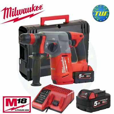 Milwaukee M18CHX-502X 18V FUEL BRUSHLESS SDS+ Hammer Drill + 2x 5.0Ah Batteries