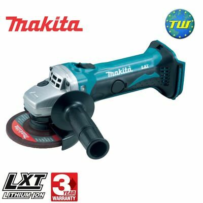 "Makita DGA452Z 18V 115mm Cordless Angle Grinder 4.5"" Body Only Bare Naked Unit"