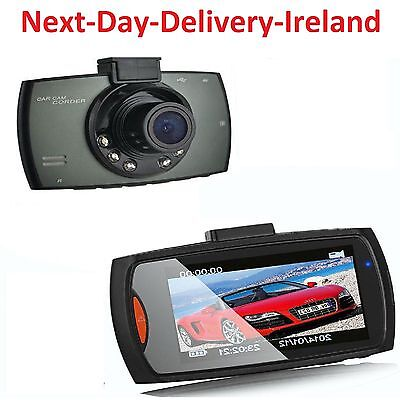 2.4'' Screen Car Camera Dash Cam Recorder Night Vision G-Sensor DVR Dash Camera