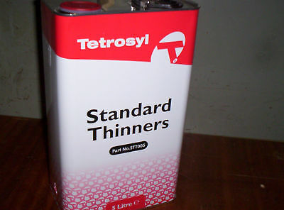 5L Tetrosyl Standard Cellulose Paint Thinner / Cleaner
