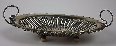Centerpiece. Sterling Silver. Hand Chiseled. Early 20Th Century. 83 Gr