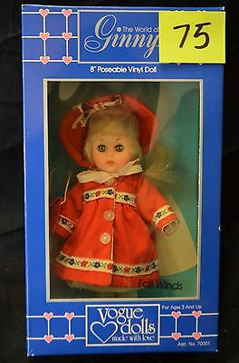 Vintage Fall Winds Ginny Doll 1987 - New in Box