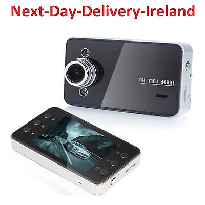 "1080P 2.4""LCD SCREEN K6000 Car DVR HDMI Recorder Dash Cam G-sensor Registrator"