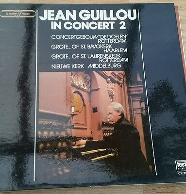 Jean Guillou in concert 2 Organ festivo stereo FC 502 Dutch pressing gatefold LP