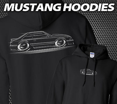 Mustang Hoodie Ford Fox Body GT 3XL 1987 1988 1989 1990 1991 1992 1993